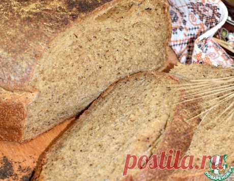 Хлеб на квасной закваске – кулинарный рецепт