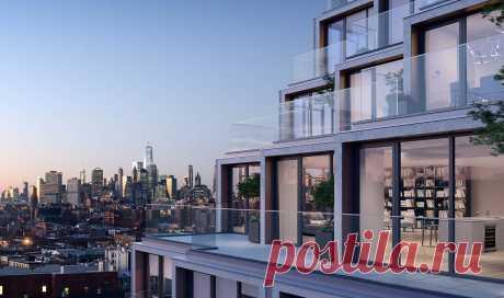 Элитный дом в Бруклине с каскадными этажами (Интернет-журнал ETODAY)