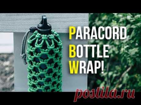 Оплетаем бутылку паракордом