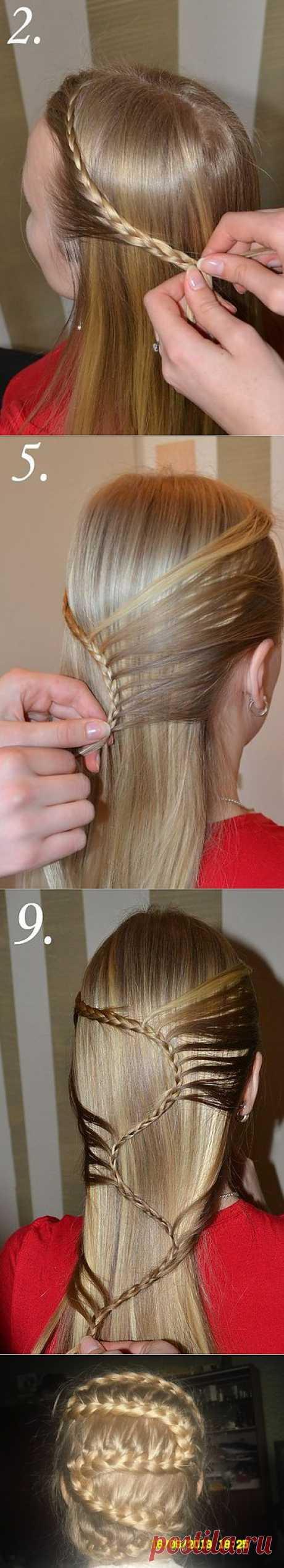 Hairdress snake