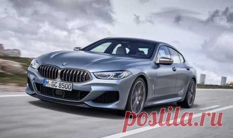 BMW 8-Series Gran Coupe 2019 - новое купе - цена, фото, технические характеристики, авто новинки 2018-2019 года