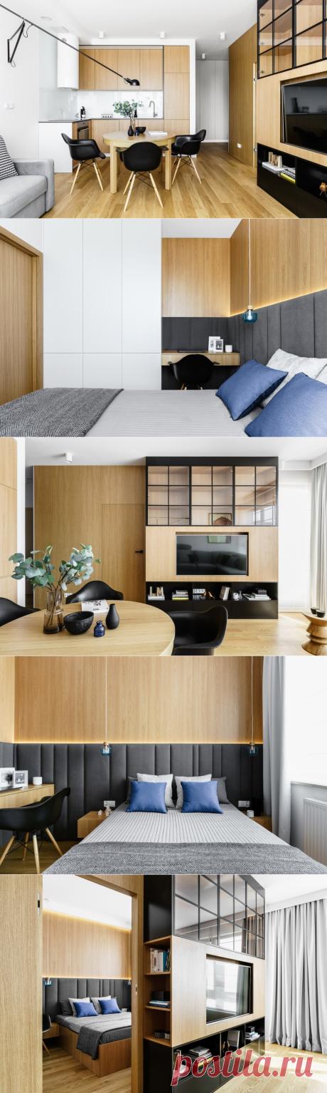 Небольшая квартира в Гданьске - Дизайн интерьеров | Идеи вашего дома | Lodgers
