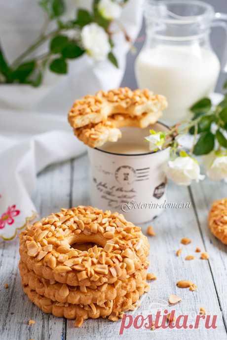 Песочные кольца с орехами - пошаговый рецепт с фото на Готовим дома