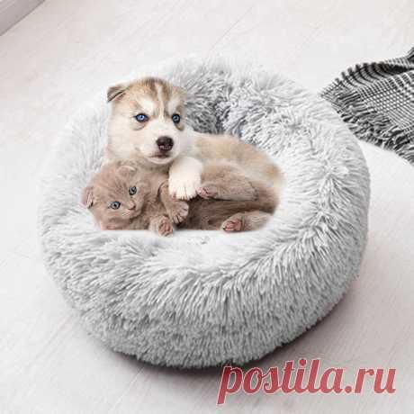 Моющаяся кровать для собак, длинный плюшевый питомник для собак, коврики для кошек, диван для собак, чихуахуа, корзина для собак, теплая кровать для домашних животных 40 100 см|Дома, конуры и манежи| | АлиЭкспресс