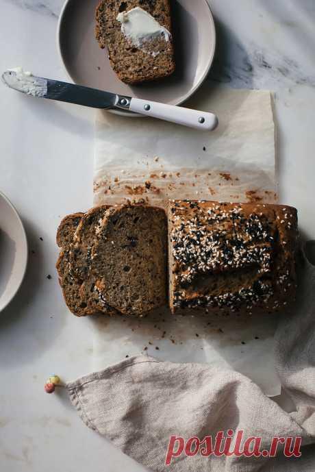 Кето-Палео хлеб с овощным жмыхом