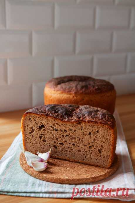 Ржано-пшеничный дрожжевой хлеб: получится у всех! | Дом Позитивного Огородника | Яндекс Дзен