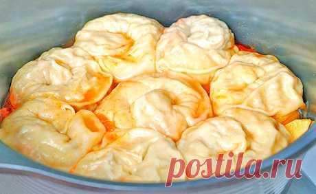 Рыбный ханум с картошкой | Рецепты на SuperKuhen.ru