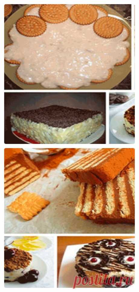 Легкие торты из печенья без выпечки. 5 лучших рецептов! - tolkovkysno.ru