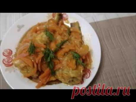 Рыба, тушеная с овощами в томате. Пошаговый рецепт приготовления