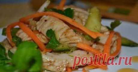 Обалденный салат из куриной грудки — вкус непередаваемый!