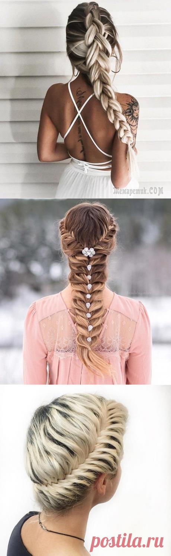 Прически с косами: 36 новых имиджей