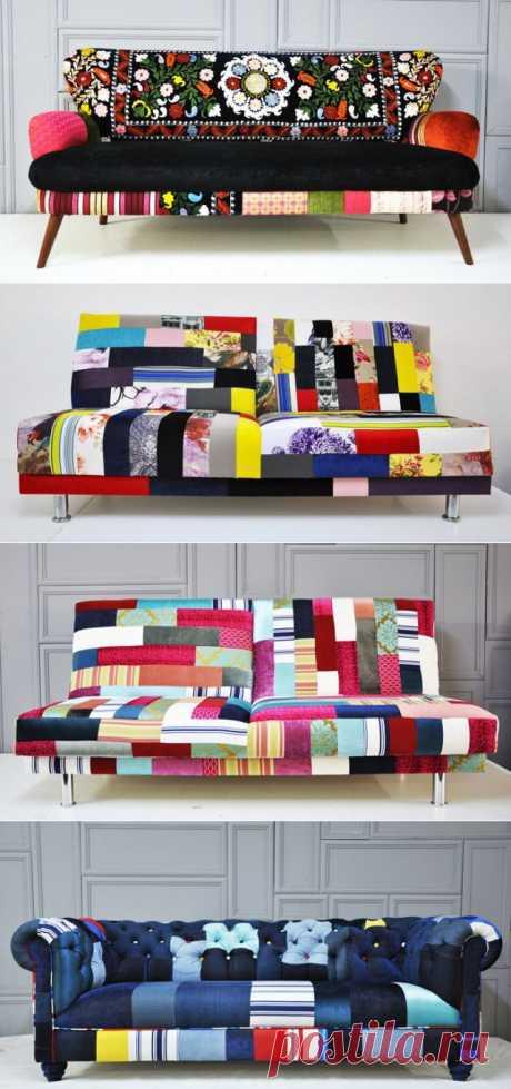 Мебельный пэчворк (трафик) / Мебель / Модный сайт о стильной переделке одежды и интерьера
