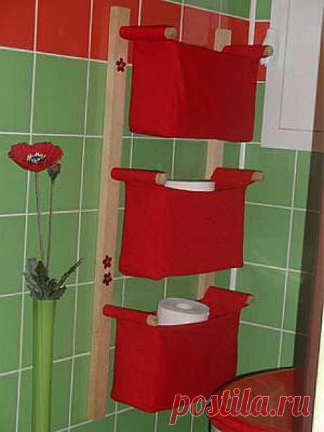 Шьем для ванной комнаты
