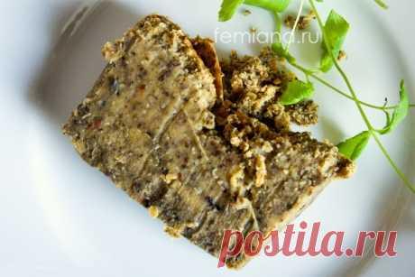 Вкусный паштет из чечевицы с грибами | FEMIANA