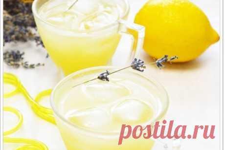 Лавандовый лимонад – пошаговый рецепт с фотографиями