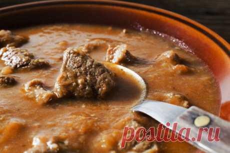 Венгерский суп-гуляш — Sloosh – кулинарные рецепты