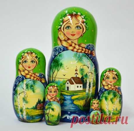 Матрёшка – уникальная русская игрушка