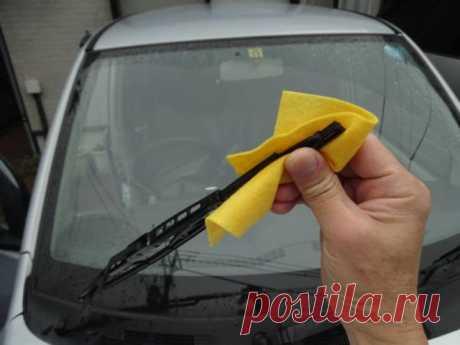 Как сделать так, чтобы «дворники» хорошо чистили стекло всю зиму - Лайфхак - АвтоВзгляд