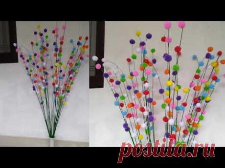Broom Stick Craft | Reuse Broom Sticks | Best out of waste | Room decor | 87 |