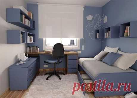 Стильная детская комната для подростка