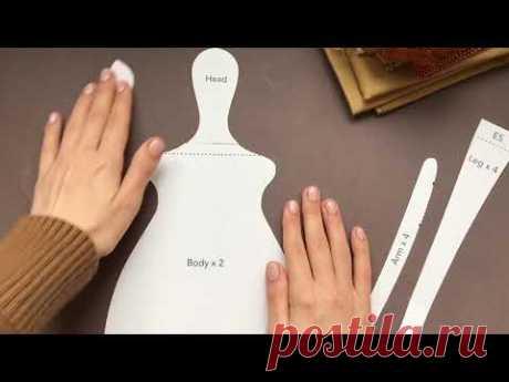 Полное видео по пошиву кухонной куклы Тильда | Tilda Kitchen doll Full video