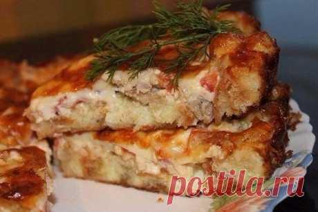 Пирог с мясом «Легче не бывает»    Мой самый любимый пирог!!!          Ингредиенты: — 2 яйца— 0.5 ч. ложка соли— 1 стакан муки— 1 стакан кефира— 0.5 ч. ложка соды Начинка:  — 300 гр фарша— 2-3 луковицы, порезать кубиками— соль, пер…