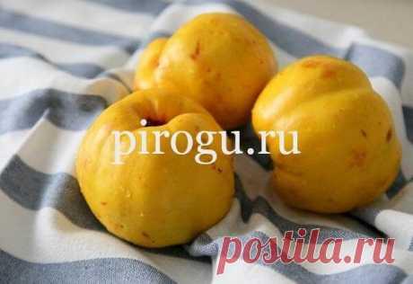 Варенье из айвы: самый вкусный рецепт с лимоном
