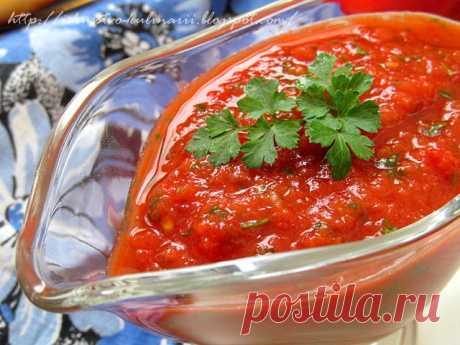Постигая искусство кулинарии... : Эзме - традиционная турецкая овощная закуска (Ezme)