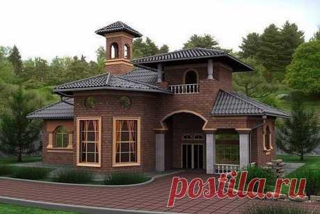 Интересный домик, правда?