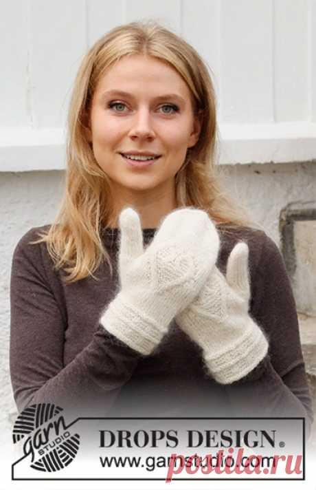 Варежки Let it Knit от DROPS Design