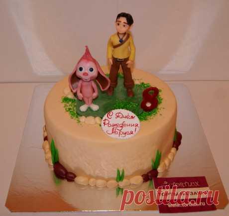 """Детский торт на тему мультфильма """"Савва"""".Вес 3 кг."""