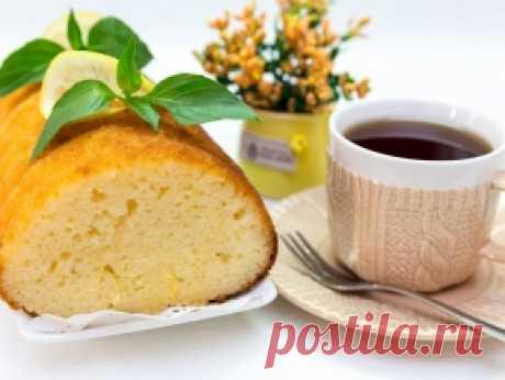 Американский лимонный кекс — рецепт с фото пошагово