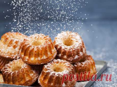 Три рецепта идеальных воздушных кексов | Marie Claire