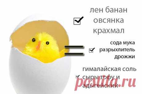 Чем заменить яйца для вегетарианских рецептов: выпечке, тесте