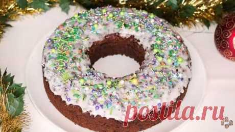 ⛄ 🎄 Волшебный Праздничный Ароматный Кекс на Рождество ⛄ 🎄