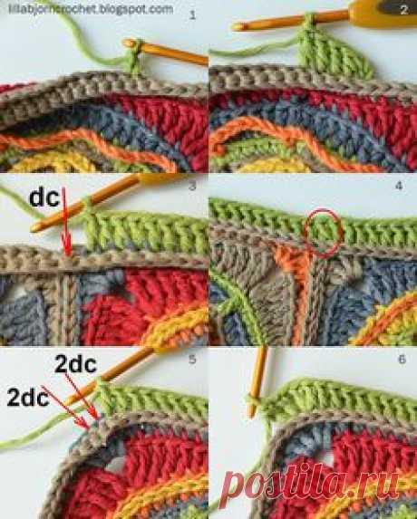 Final Part: Circles of the Sun CAL - LillaBjörn's Crochet World