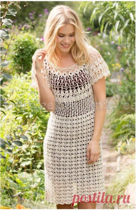 Crochetemoda: Платье Крючком