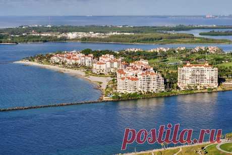 Остров миллиардеров: самый дорогой адрес наЗемле Фишер-Айленд— одно изсамых закрытых мест вСША.