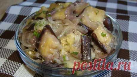 Маринованные баклажаны Тающие во рту рецепт с фото
