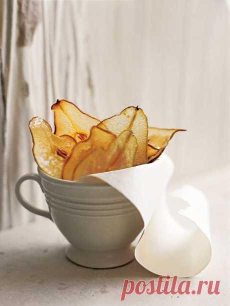 Грушевые чипсы своими руками Модная одежда и дизайн интерьера своими руками