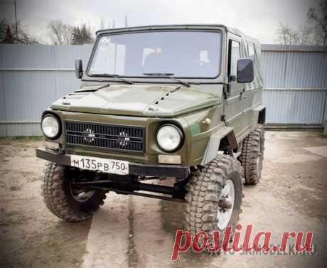 Авто самоделка ЛуАЗ с двигателем ВАЗ-2106 и военными мостами (29 фото) Самодельный внедорожник, построенный на базе автомобиля ЛуАЗ-969 с двигателем ВАЗ-2106 и военными мостами