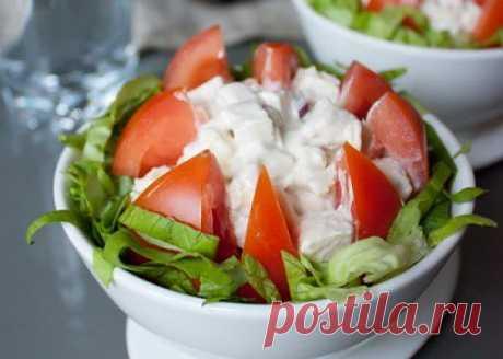 Праздничные салаты с курицей: готовим и оформляем / Простые рецепты