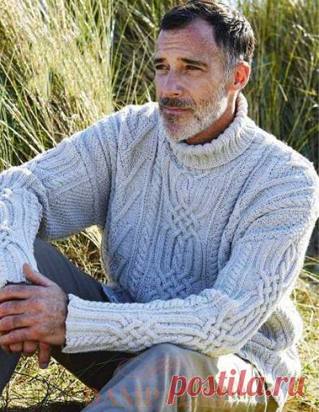 Мужской свитер «Окли» — HandMade