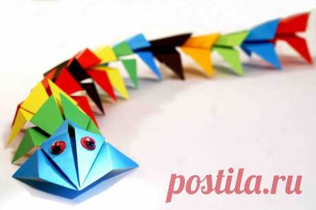 Origami from paper for beginners and children: schemes of a bird, ship, tulip, rocket, envelope, idea, description and photo