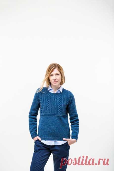 Пуловер Alvy, Jared Flood, Brooklyn Tweed Winter 2015