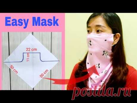 DIY scarf mask | Step by step easily | ART Thao162