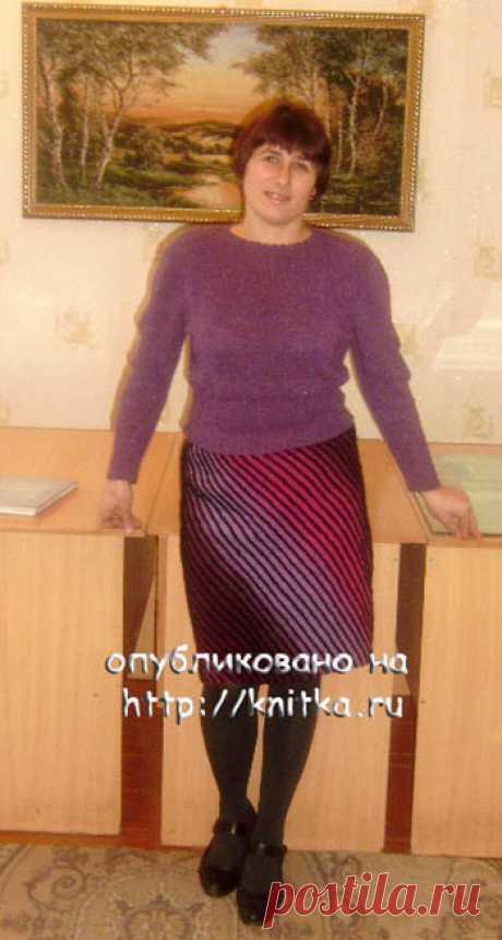 Юбка из Кауни – работа Натальи Гуторовой, Вязание для женщин