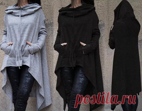 Pattern of a women's sweatshirt with a hood the Women's sweatshirt – incredibly comfortable and stylish element of clothes. It is a certain sports charm of street fashion.\u000aConvenient and warm sweatshirts are used for a long time by lovers of active lifestyle …