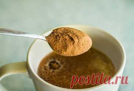 Ингредиент для добавления в горячие напитки утром, препятствующий диабету | ЗОЖ | MedikForum.ru
