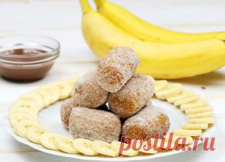 Твои маленькие обезьянки оценят эти вкусные, жареные бананы!